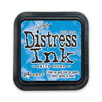 Tim Holtz Distress Ink Pad SALTY OCEAN Ranger Summer TIM35015
