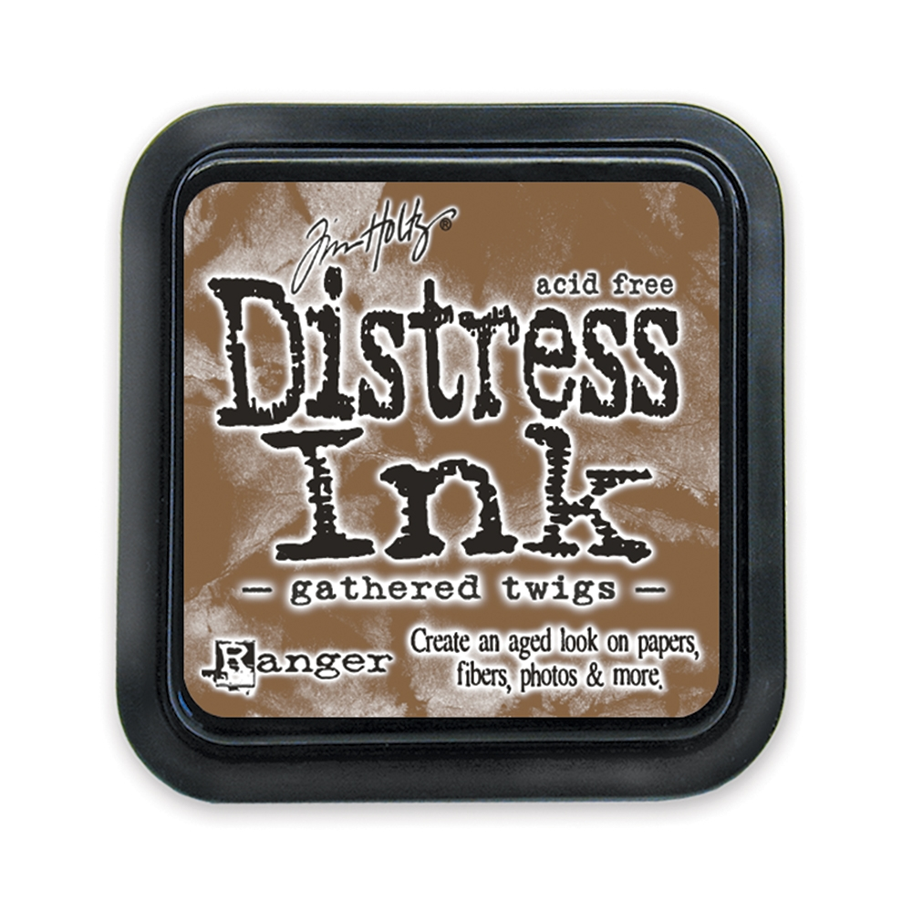 Tim Holtz Distress Ink Pad GATHERED TWIGS Ranger Fall TIM32823 zoom image