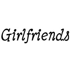 Art Impressions SENTIMENT GIRLFRIENDS Cling Rubber Stamp zoom image