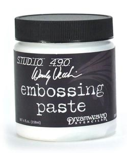 Wendy Vecchi Embossing Paste WHITE Studio 490 WVPASTEWHT