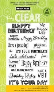 Hero Arts Clear Stamps IT'S YOUR DAY CL661 zoom image