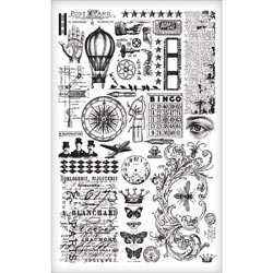Tim Holtz Idea-ology ELEMENTS REMNANT RUBS  TH93057 zoom image