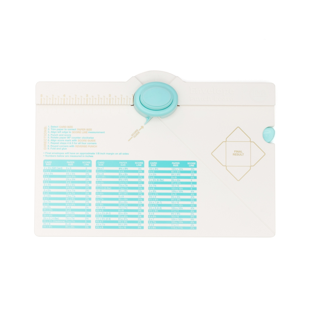 We R Memory Keepers ENVELOPE PUNCH BOARD 71277-0 zoom image