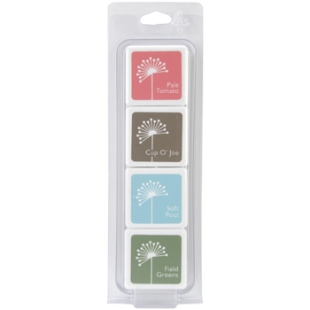 Hero Arts Mini CUBE INK PADS Set QUIET MORNING af238