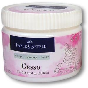 Faber-Castell GESSO White Opaque Paper Crafter Medium 3.3oz 770302 zoom image