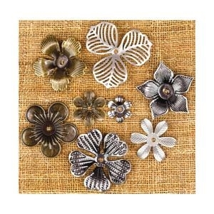 Prima Flowers MINI FLOWERS Sunrise Sunset Vintage Trinkets 960322 zoom image