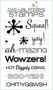CAS-ual Fridays EXCLAMATIONS Clear Stamps zoom image
