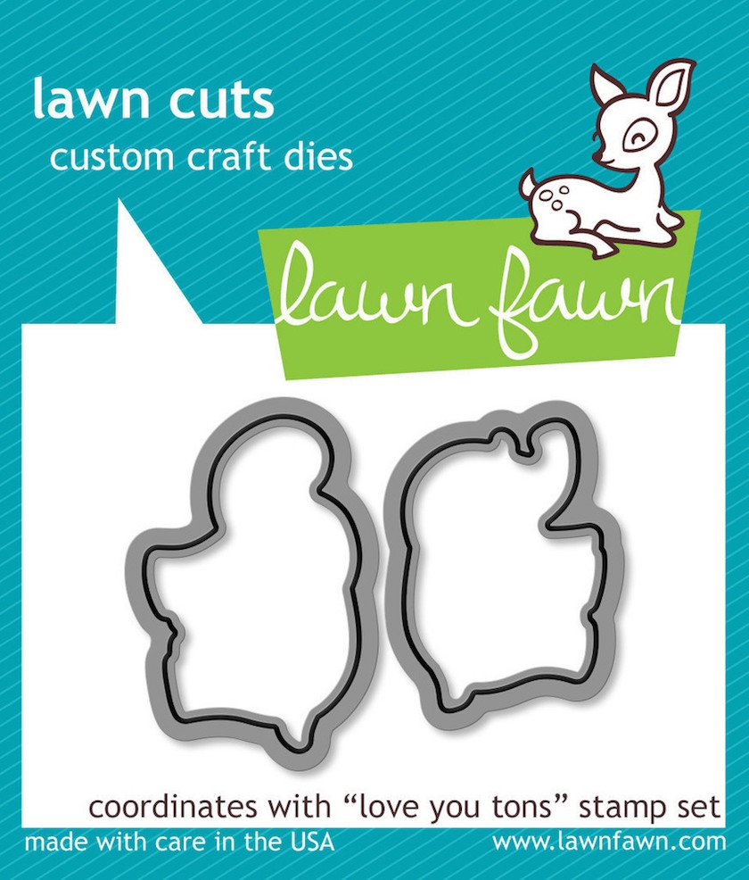 Lawn Fawn LOVE YOU TONS Lawn Cuts Dies zoom image