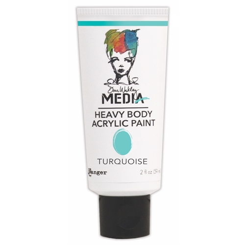 Dina Wakley Ranger TURQUOISE Media Heavy Body Acrylic Paints MDP41160