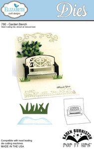 Elizabeth Craft Designs GARDEN BENCH Pop It Ups Dies 780 zoom image