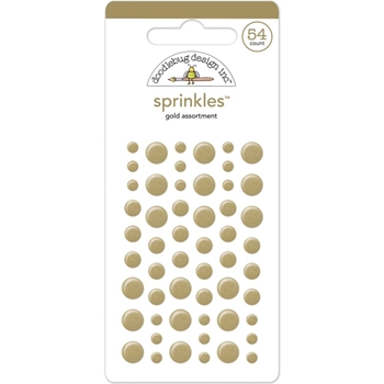 Doodlebug GOLD DOTS Sprinkles Assortment 4219