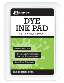 Ranger Dye Ink Pad ELECTRIC LIME RDP42877