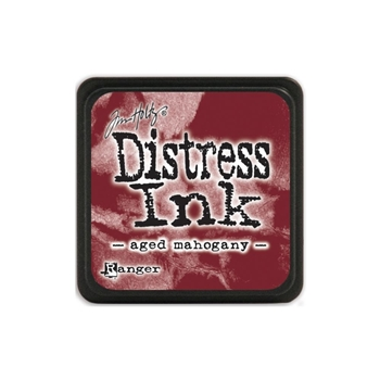Tim Holtz Distress Mini Ink Pad AGED MAHOGANY Ranger TDP39839
