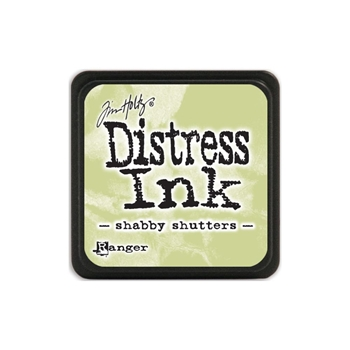 Tim Holtz Distress Mini Ink Pad SHABBY SHUTTERS Ranger TDP40163
