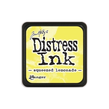 Tim Holtz Distress Mini Ink Pad SQUEEZED LEMONADE Ranger TDP40200