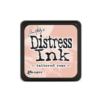 Tim Holtz Distress Mini Ink Pad TATTERED ROSE Ranger TDP40224