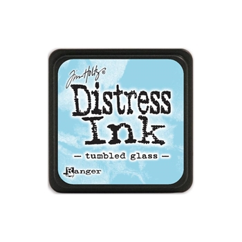Tim Holtz Distress Mini Ink Pad TUMBLED GLASS Ranger TDP40248