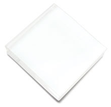Hero Arts Rubber Stamp CLEAR ACRYLIC BLOCK 3 by 3 square cleardesign cl074 zoom image