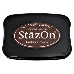 Tsukineko Stazon TIMBER BROWN INK PAD SZ-41 zoom image