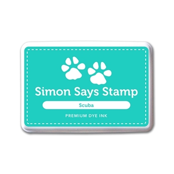 Simon Says Stamp Premium Dye Ink Pad SCUBA ink043 The Color of Fun
