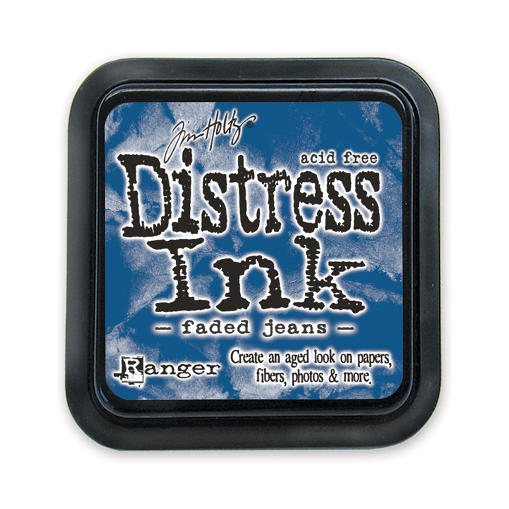 Tim Holtz Distress Ink Pad FADED JEANS Ranger TIM21452 zoom image