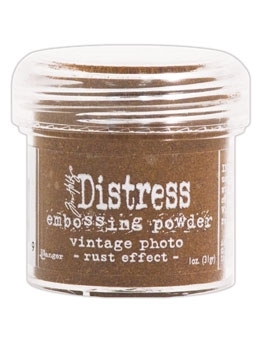 Tim Holtz Distress Embossing Powder VINTAGE PHOTO Rust Effect Ranger TIM21179 zoom image