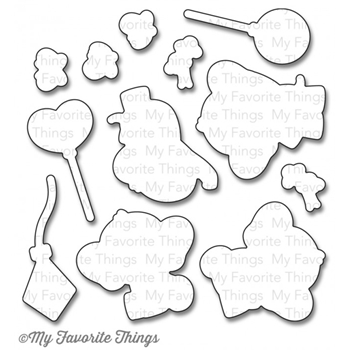 My Favorite Things ADORABLE ELEPHANTS DIe-Namics MFT814