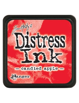 Tim Holtz Distress Mini Ink Pad CANDIED APPLE Ranger TDP47391