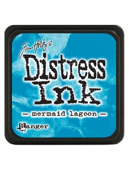 Tim Holtz Distress Mini Ink Pad MERMAID LAGOON Ranger TDP46790