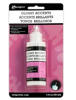 Ranger Inkssentials GLOSSY ACCENTS Glue Dimensional Adhesive GAC17042