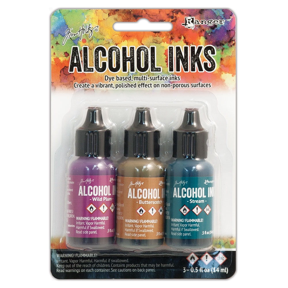 Tim Holtz Alcohol Ink Set NATURE WALK Adirondack Ranger TIM19787 zoom image