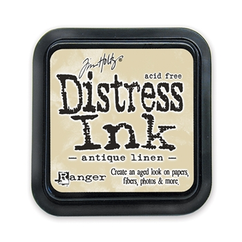 Tim Holtz Distress Ink Pad ANTIQUE LINEN Ranger TIM19497