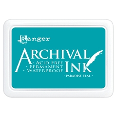 Ranger Archival Ink Pad PARADISE TEAL AIP52500