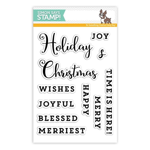 Simon Says Clear Stamps ADVENT SENTIMENTS SSS101682