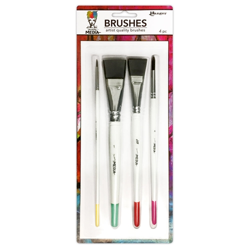 Dina Wakley Ranger MEDIA BRUSHES MDA55761