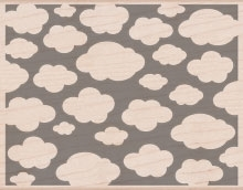 Hero Arts Rubber Stamp Designblock CLOUDS s5215 zoom image