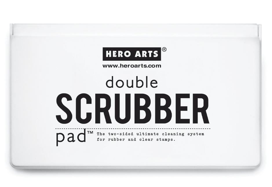 Hero Arts DOUBLE SCRUBBER PAD Stamp Cleaner nk301 zoom image
