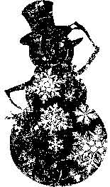 Tim Holtz Rubber Stamp BLUSTERY Snowman Stampers Anonymous M1-1449 zoom image