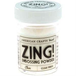 American Crafts Zing! CLEAR Embossing Powder 27170