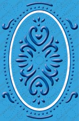 Cuttlebug PLUS Embossing Folder ELEGANT ELLIPSE Provo Craft* zoom image