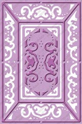 Cuttlebug PLUS Embossing Folder LACE DOOR Provo Craft* zoom image
