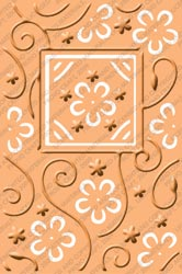 Cuttlebug PLUS Embossing Folder PERFECT PERENNIALS Provo Craft* zoom image