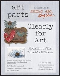 Wendy Vecchi Modeling Film CLEAR CLEARLY FOR ART Parts Studio 490 WVCLR zoom image