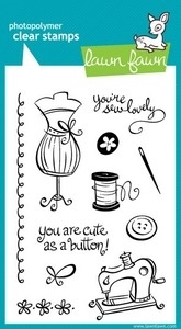 Lawn Fawn SEW LOVELY Clear Stamps zoom image