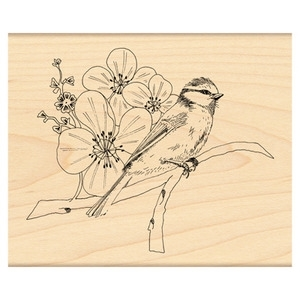 Penny Black Rubber Stamp NATURE'S DAY 4157K zoom image