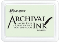 Ranger Archival Ink Pad SAP GREEN AIP30645