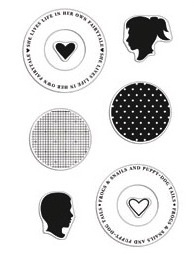 Hero Arts Clear Stamps SILHOUETTES Studio Calico ST512 zoom image