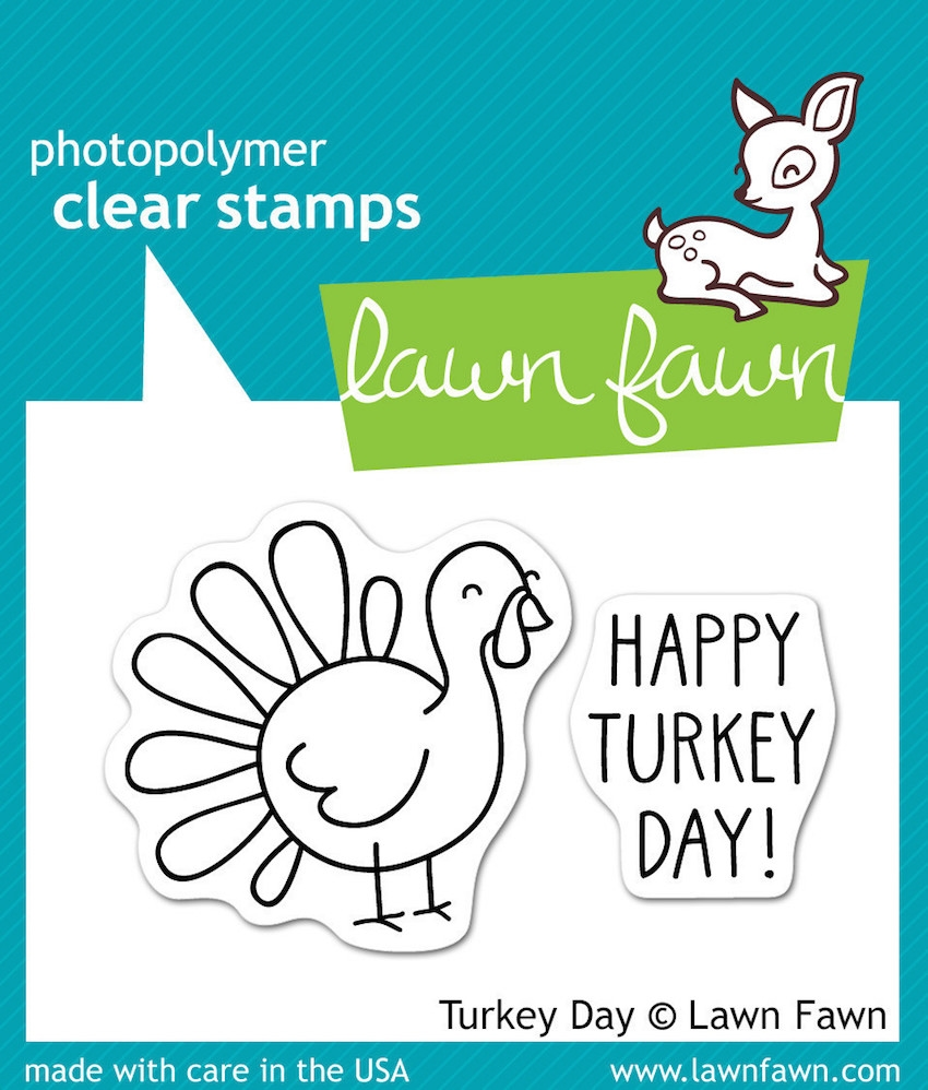 Lawn Fawn TURKEY DAY Clear Stamps zoom image