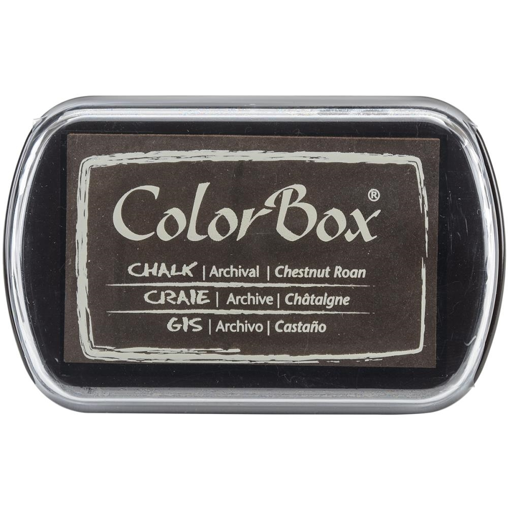 Clearsnap Colorbox CHESTNUT ROAN Brown Chalk Ink Pad 710036 zoom image