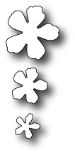 Memory Box FANCY BLOSSOMS Craft DIE 98312 zoom image